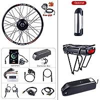 """BAFANG自転車変換キット48 V 500 W自転車用リアハブモーター20""""26"""" 27.5""""700 Cリアホイールキット、PAS LCDモニターEbikeバッテリー(オプション)および充電器"""