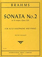 BRAHMS - Sonata Op.120 nコ 2 en Mib Mayor para Saxofon Mib y Piano (Saiano)