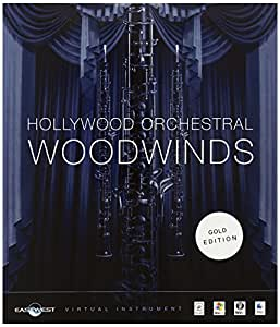 EastWest Quantum Leap Hollywood Orchestral Woodwonds Gold Edition オーケストラ木管楽器コレクション 【国内正規品】