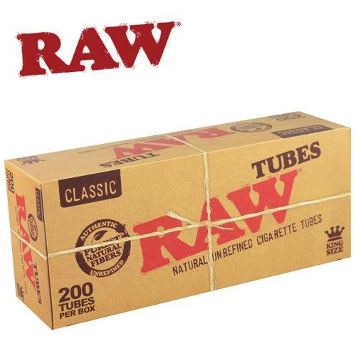 RAW こだわりブランド ローのチュービング用レギュラーチューブが新登場200本入りx2パック モリソン商会