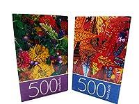バーストの色500pc。パズル~ Pack of 2