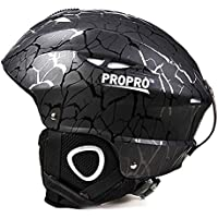 スキー ヘルメット スノーボード用 スノー ヘルメット ヘッドプロテクター 男女兼用 アウトドア スポーツ (M)