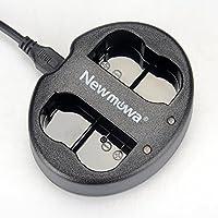 Newmowa EN-EL15 対応互換バッテリーチャージャー Nikon EN-EL15 and Nikon 1 V1, D600, D610, D800, D800E, D810, D7000, D7100,P7200D