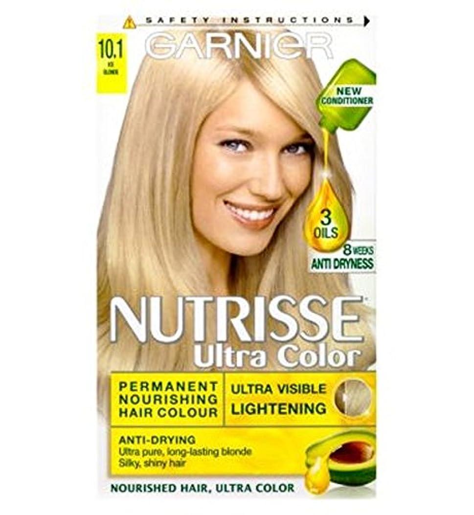 敵対的よろめくビルマガルニエNutrisse超永久色10.1氷のブロンド (Garnier) (x2) - Garnier Nutrisse Ultra Permanent Colour 10.1 Ice Blonde (Pack of 2...