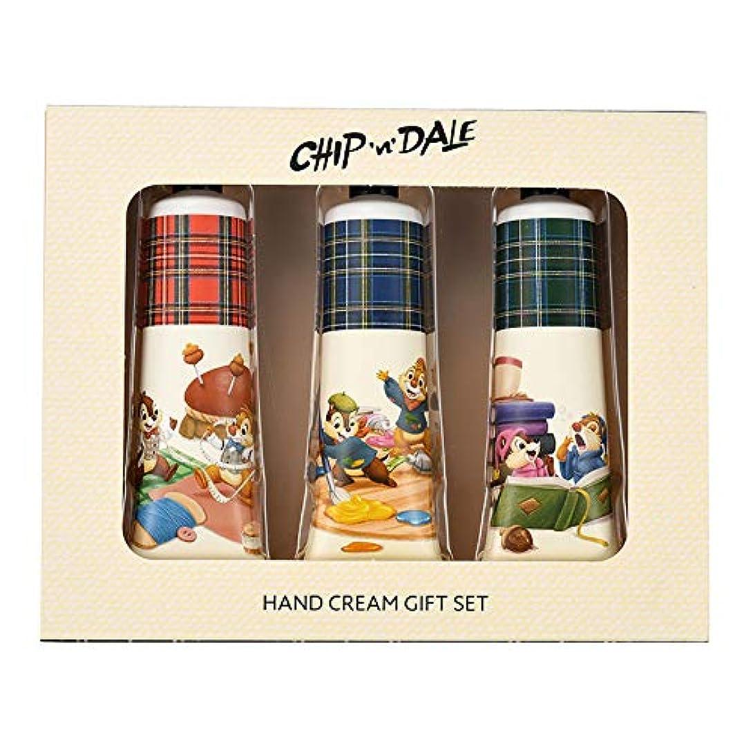 下線離婚刺繍ディズニーストア(公式)チップ&デール ハンドクリーム セット Chip&Dale Autumn Collection
