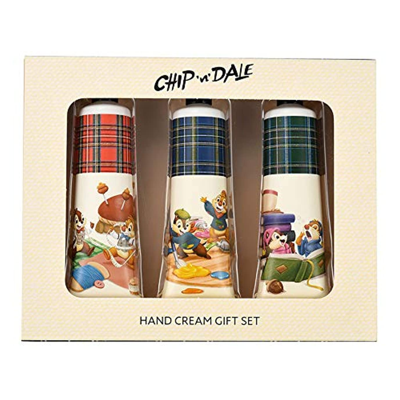 に対して染料イースターディズニーストア(公式)チップ&デール ハンドクリーム セット Chip&Dale Autumn Collection