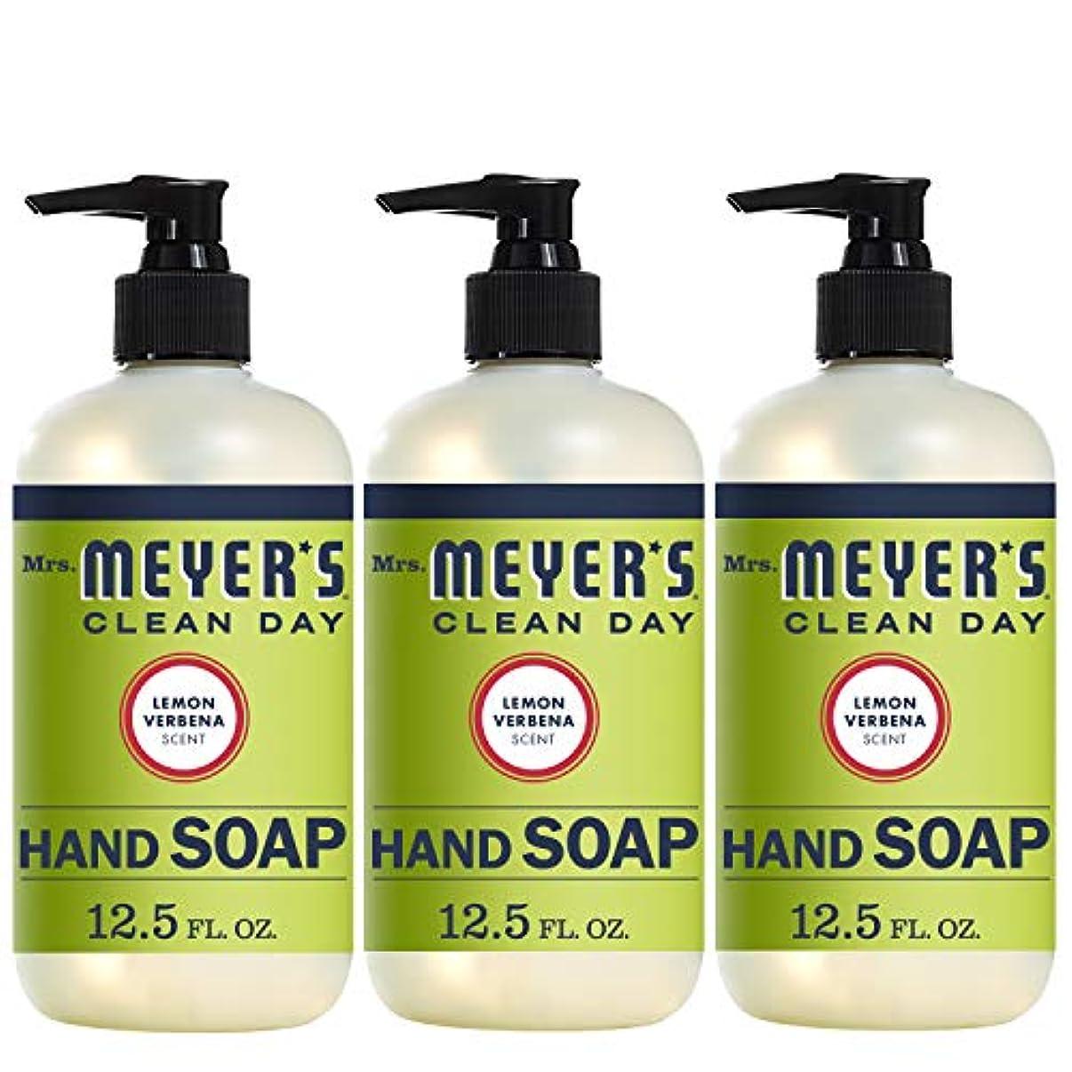 質量悪名高い百Mrs. Meyers Clean Day ハンドソープ レモン Verbena 12.5液量オンス