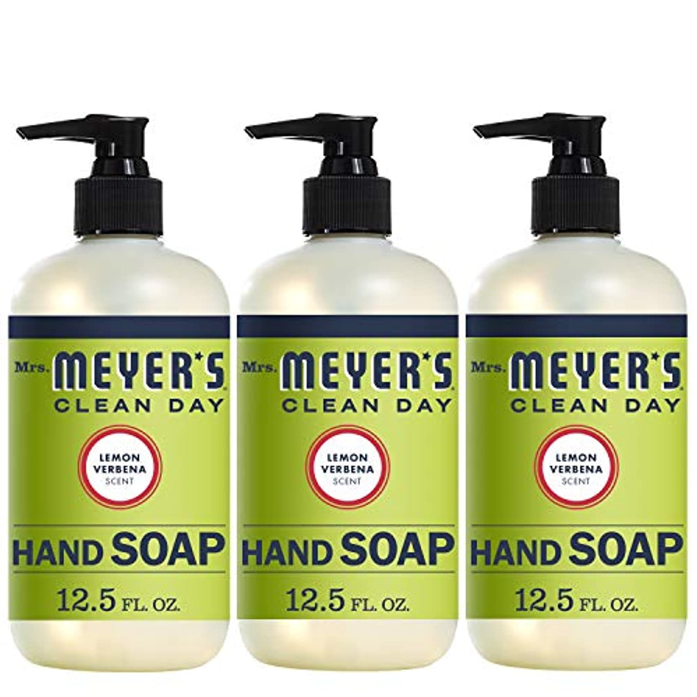 エラーブランド名創造Mrs. Meyers Clean Day ハンドソープ レモン Verbena 12.5液量オンス