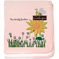 CafePress – You Are My Sunshine幼児毛布( Granddaughter ) – スーパーソフトベビー毛布、新生児おくるみ ピンク 04776343066832E