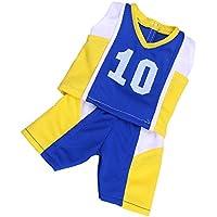 ノーブランド品  カジュアル  スポーツ  サッカー ユニフォーム 服装  18インチ アメリカンガールドール用 3種類選ぶ - 03