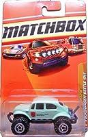 2010 Matchbox (Mint Green) VOLKSWAGEN BEETLE 4x4 #91/100, Desert Endurance #8/11 (Park Patrol, Mojave Sector)