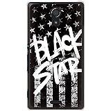 CaseMarket 【ポリカ型】 au Xperia UL SOL22 ポリカーボネート素材 ハードケース [ Black American BLACK STAR ]