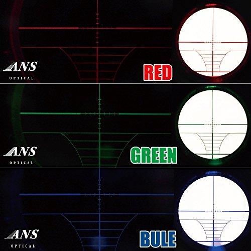 ANSOptical『ライフスコープフロントフォーカスハイマウント(3-9x40AOE)』