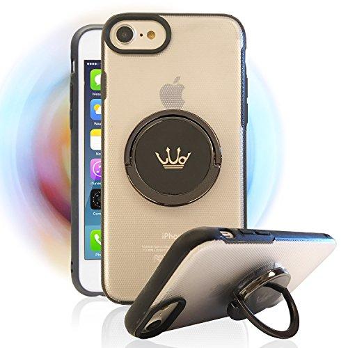 iPhone8,7,6S,6 ケース,多機能 指スピナー・リ...