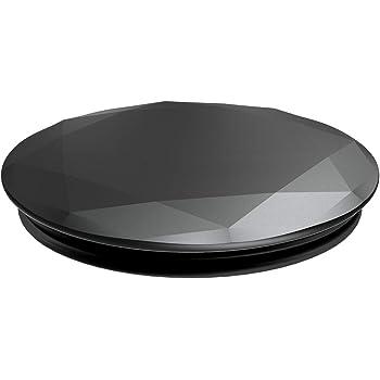 PopSockets Black Metallic Diamond スマートフォン用グリップスタンド
