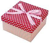 丸和貿易 ギフトボックス シリンコリー スクエアー L オレンジ 4007144-03