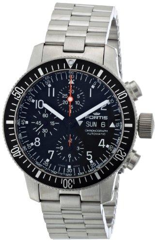 [フォルティス]FORTIS 腕時計 B-42コスモノート クロノグラフ 638.10.11M メンズ 【正規輸入品】