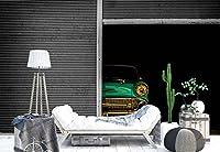 クラシック車ガレージフォト壁紙壁画 XXL - 13ft 8in x 9ft 6in (WxH)