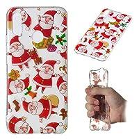 Huawei Nova 3i カバー Mrstar TPU 皮膚 保護者 保護 電話 シェル カバー の Huawei Nova 3i (Santa)