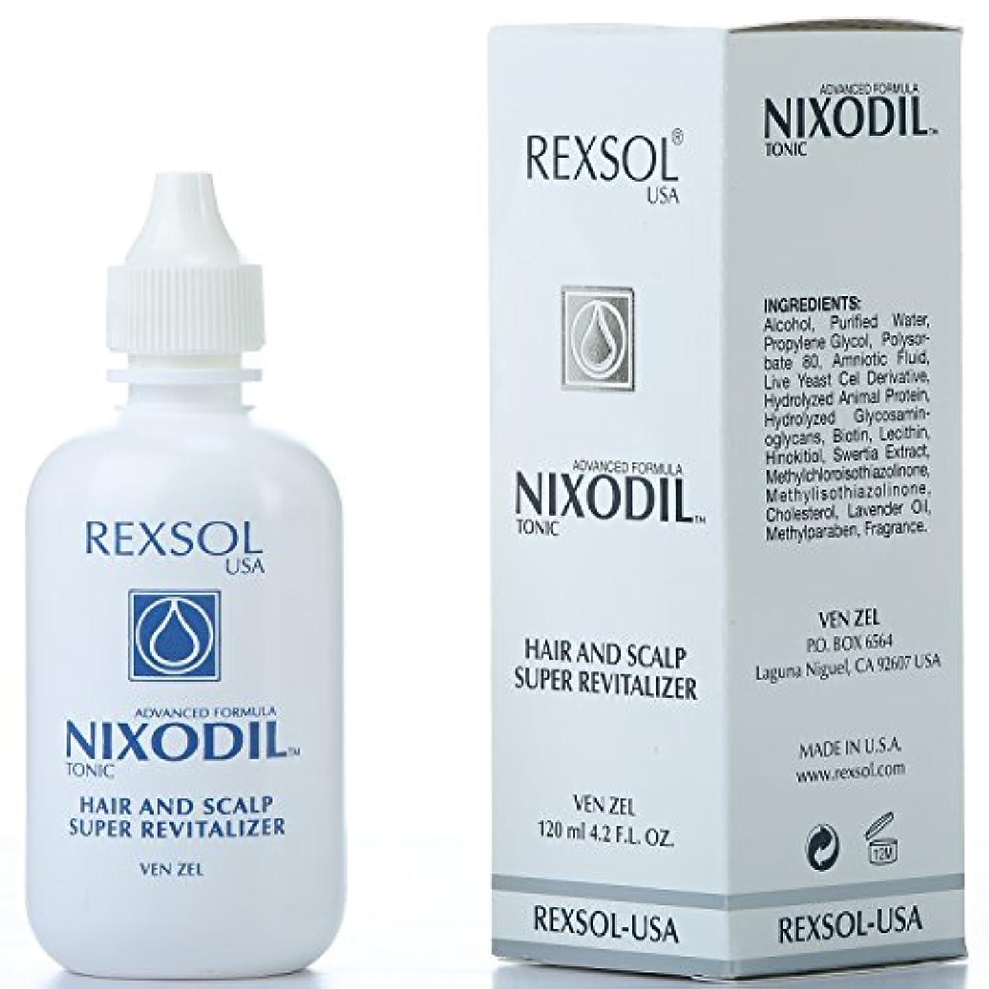 無効にするジャンプする隠されたREXSOLニクソディルヘア&スカルプスーパーリバイタライザー| ライブ酵母細胞誘導体、ビオチン、レシチン、Swertia Extract&ラベンダーオイル| 毛の損失と刺激的な成長を防ぎます(120 ml / 4.2...