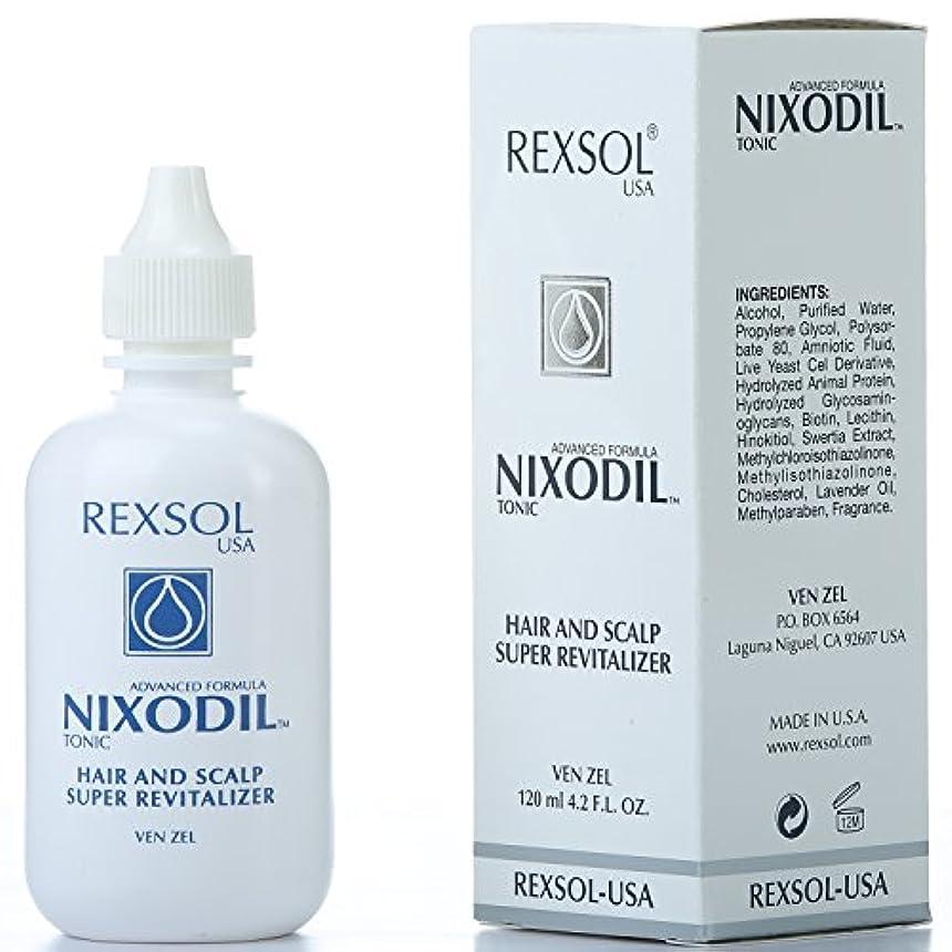 REXSOLニクソディルヘア&スカルプスーパーリバイタライザー| ライブ酵母細胞誘導体、ビオチン、レシチン、Swertia Extract&ラベンダーオイル| 毛の損失と刺激的な成長を防ぎます(120 ml / 4.2...
