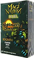 Magi Nation Duel Card Game Nightmares Dawn Bograth Theme Deck