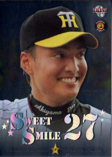 BBM2011 阪神タイガース SWEET SMILE No.TS2 秋山拓巳