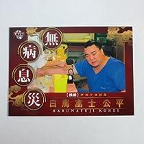 BBM2015大相撲カード【レギュラーカード】No.90縁起物カード/無病息災(日馬富士)
