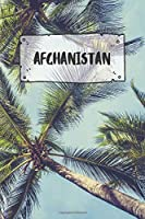 Afghanistan: Ruled Travel Diary Notebook or Journey  Journal - Lined Trip Pocketbook for Men and Women with Lines