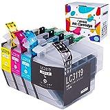 Hehua 互換インク lc3119-4pk lc3117-4pk lc3117 大容量 ブラザー インクカートリッジlc3119 対応機種: ブラザー MFC-J6980CDW MFC-J6580CDW