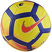 Nike Ordem V Premier League Soccer Ball - サッカーボール Yellow/Purple/Crimson/Crimson