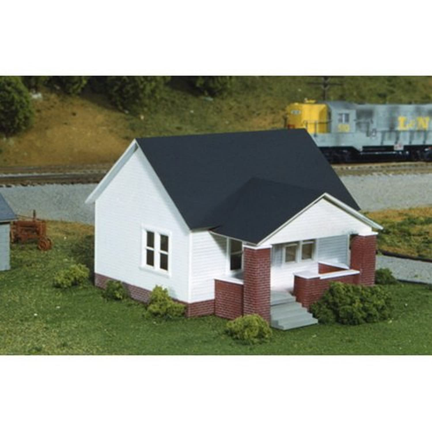 Rix製品6280203 HoキットMaxwell Ave House w / Side Porch