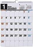 高橋 2021年 カレンダー 壁掛け A4 E65 ([カレンダー])