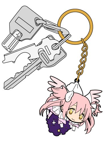 Madoka ☆ Magica story of rebellion Ultimate Madoka Tsumamare Keychain (japan import)