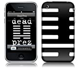 Msic Skins iPhone 3G/3GS用フィルム Dead Prez – Logo iPhone 3G/3GS MSRPIP3G0019
