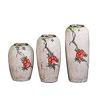 手作りの色塗装ロータス風景抽象芸術装飾品0.45-0.65メートル着陸大花瓶花インサー