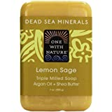Dead Sea Mineral Lemon Verbena Soap - 7 oz by One With Nature