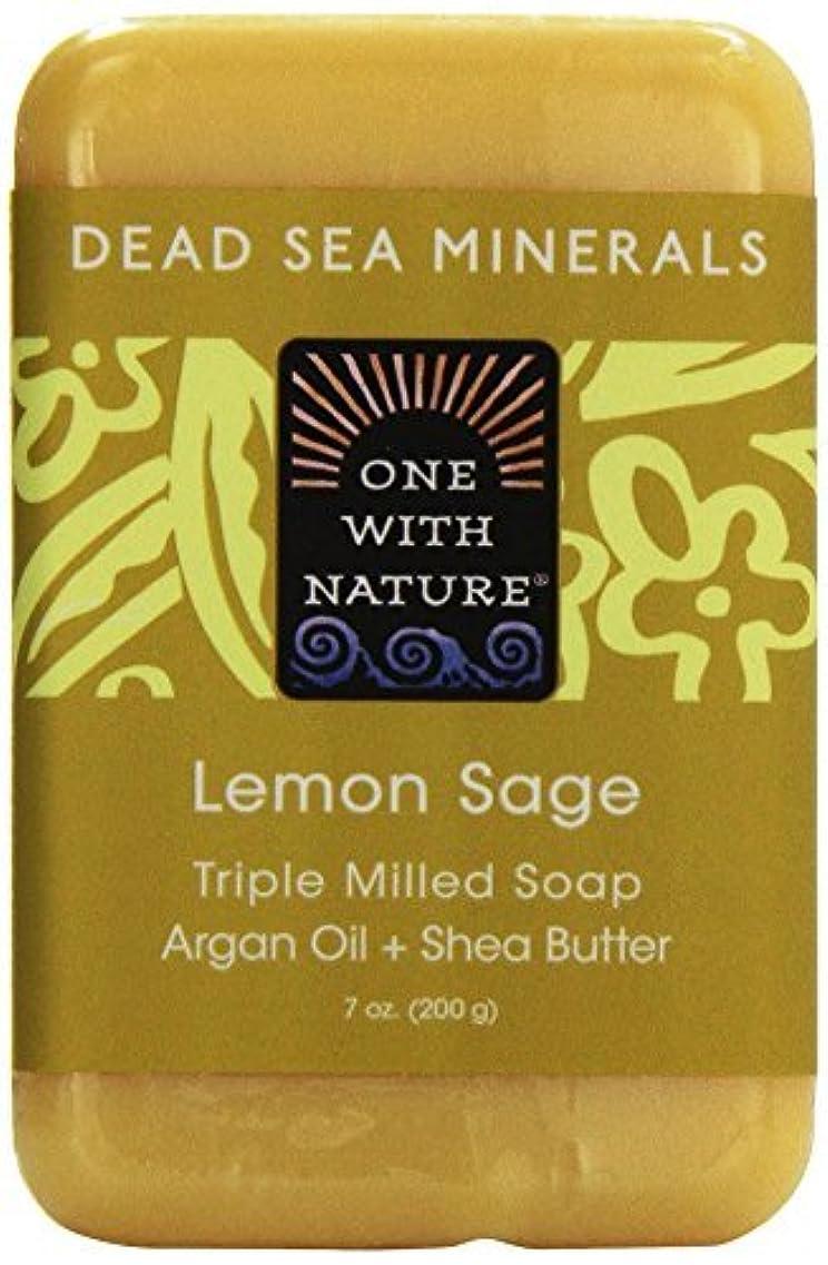 伝統的純粋にカーペットDead Sea Mineral Lemon Verbena Soap - 7 oz by One With Nature