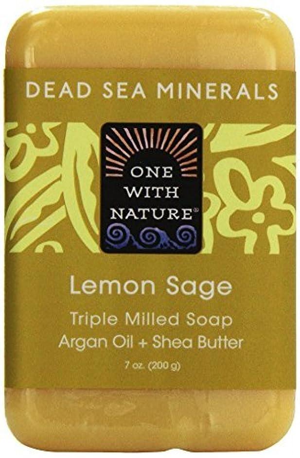 キャッチ微生物機構Dead Sea Mineral Lemon Verbena Soap - 7 oz by One With Nature