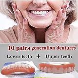 20個の歯の快適さフィットフレックス化粧品の歯義歯の歯のトップ化粧品のベニヤシミュレーションブレース新しい