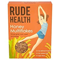 失礼な健康蜂蜜Multiflakesの425グラム - Rude Health Honey Multiflakes 425g [並行輸入品]