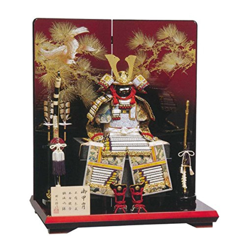 五月人形 鎧飾り 武蔵朔太郎作 白糸褄取 GOH-501163 平安豊久 GC-078