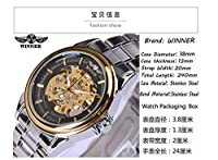 HWCOO 時計 T-勝者メカニカル自動スチールベルト機械式時計 (Color : 1)