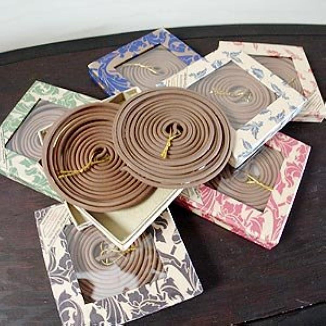バリ アジアン雑貨 お香 バリウッド:びろ~んな長時間型コイルインセンス! (あり, セシリア)