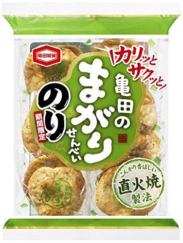 亀田製菓 亀田のまがりせんべいのり 14枚×12袋