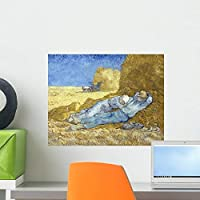 Siesta after Millet Wall Mural by Wallmonkeys Peel and Stick Graphic (18 in W x 14 in H) WM105905 [並行輸入品]