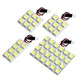 【断トツ150発!!】 GT3/7 新型 スバルXV LED ルームランプ 4点セット [H29.5~] スバル 基板タイプ 圧倒的な発光数 3chip SMD LED 仕様 室内灯 カー用品 HJO