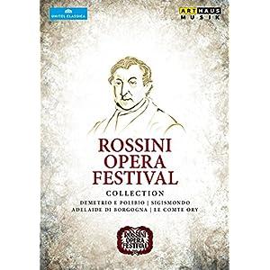 ロッシーニ:オペラ・フェスティヴァル・コレクション[4DVDs]
