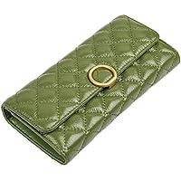 [FIGESTIN]長財布 レディース 大容量 本革 財布 人気 ブランド 柔らかい 軽量