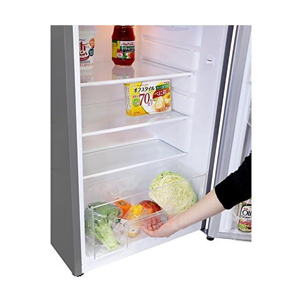 エスキュービズム 2ドア冷蔵庫 WR-2138...の紹介画像3